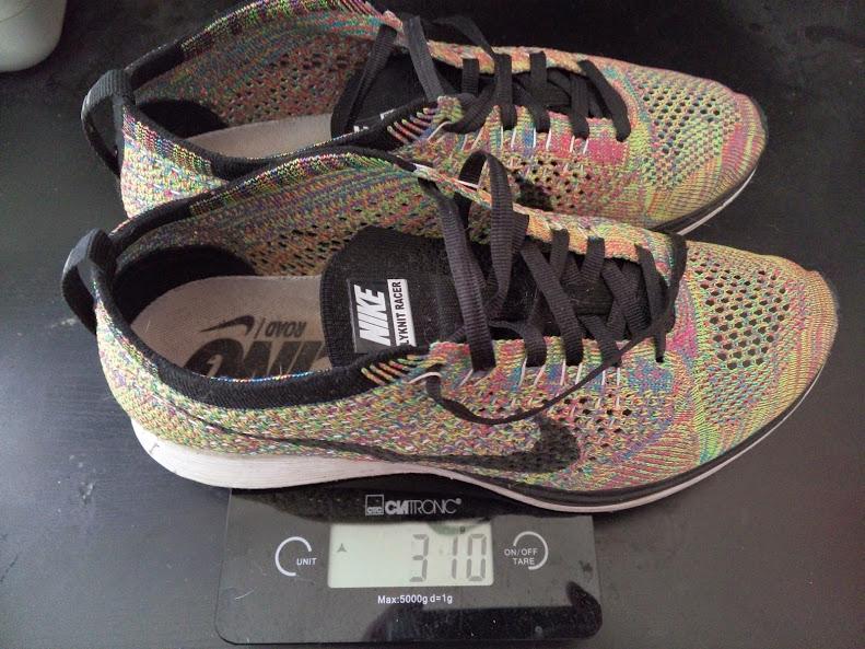 Nike Flyknit Racer Gewicht