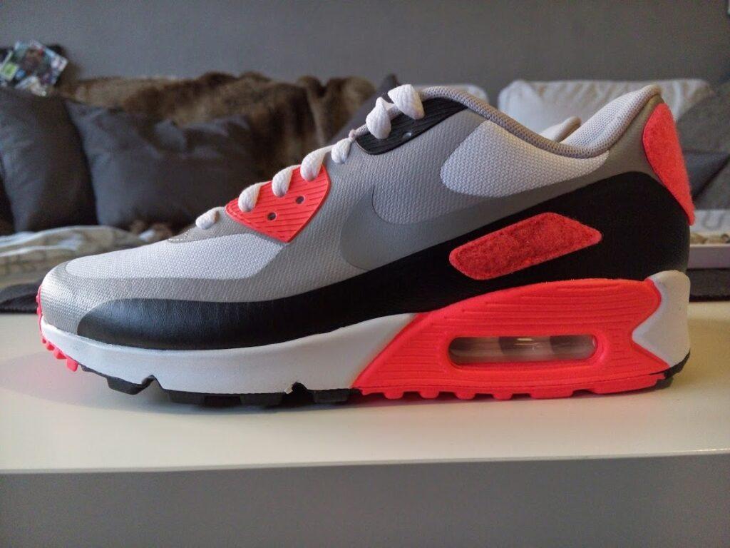 Nike Air Max 90 Infrared Patch Seitenansicht
