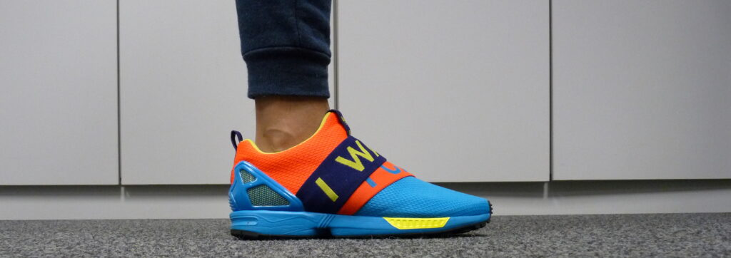 adidas ZX Flux Slip-on I Want I Can