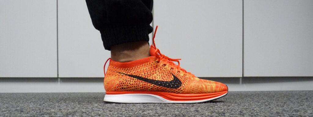 Nike Flyknit (Bright Crimson / Black - Volt)