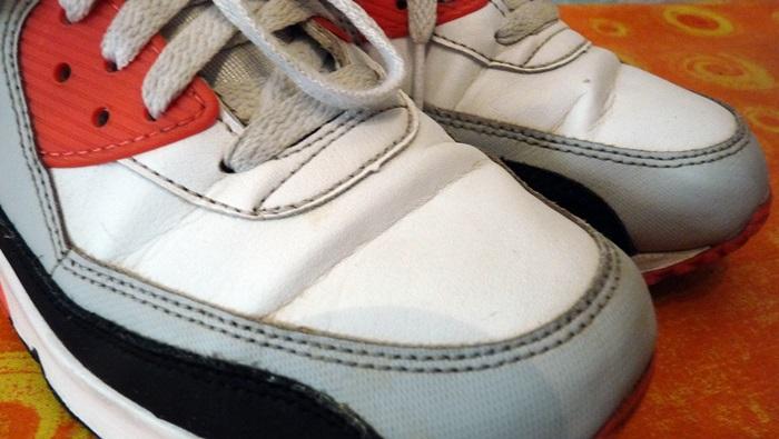 Knitterfalte Sneaker