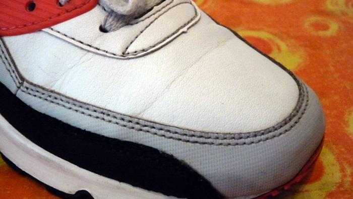 Knitterfalte Sneaker Nacher