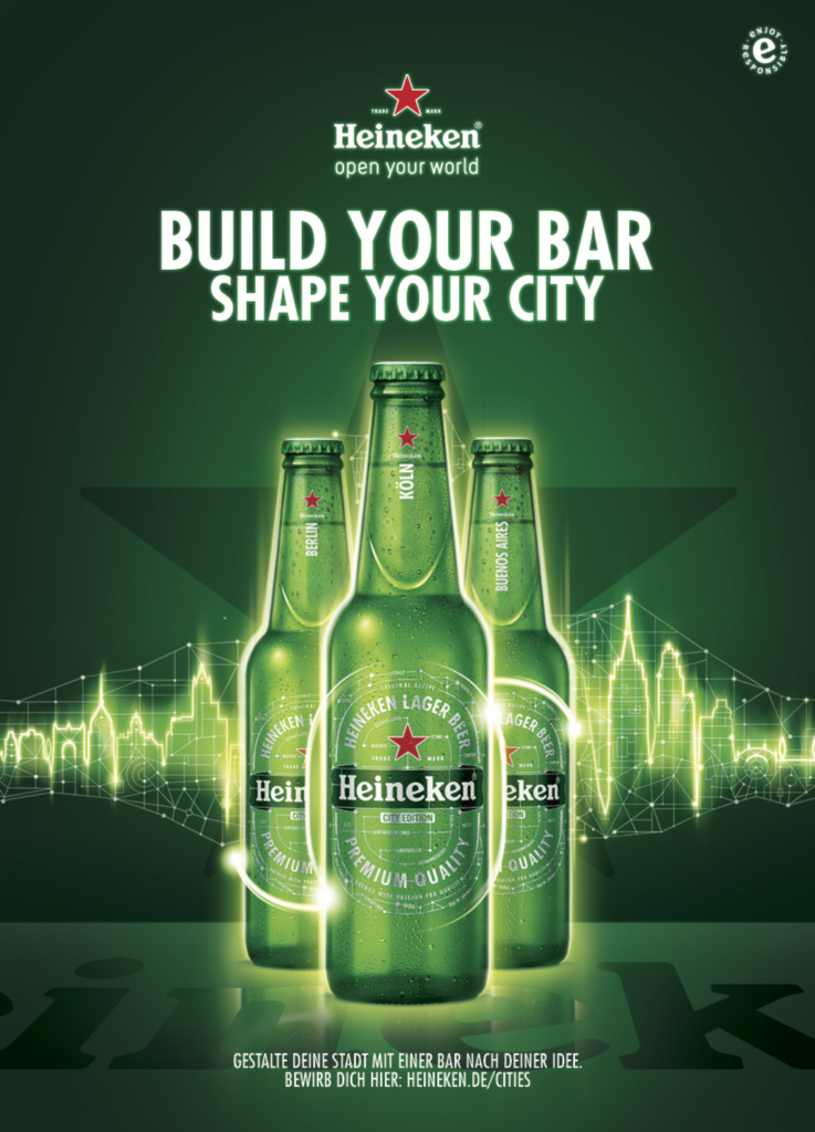 Heineken Build your bar